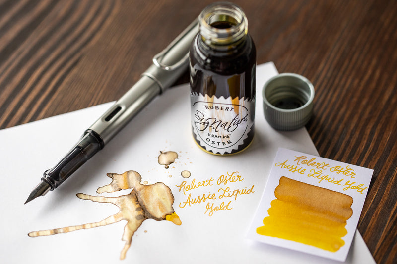 Robert Oster Aussie Liquid Gold - 50ml Bottled Ink
