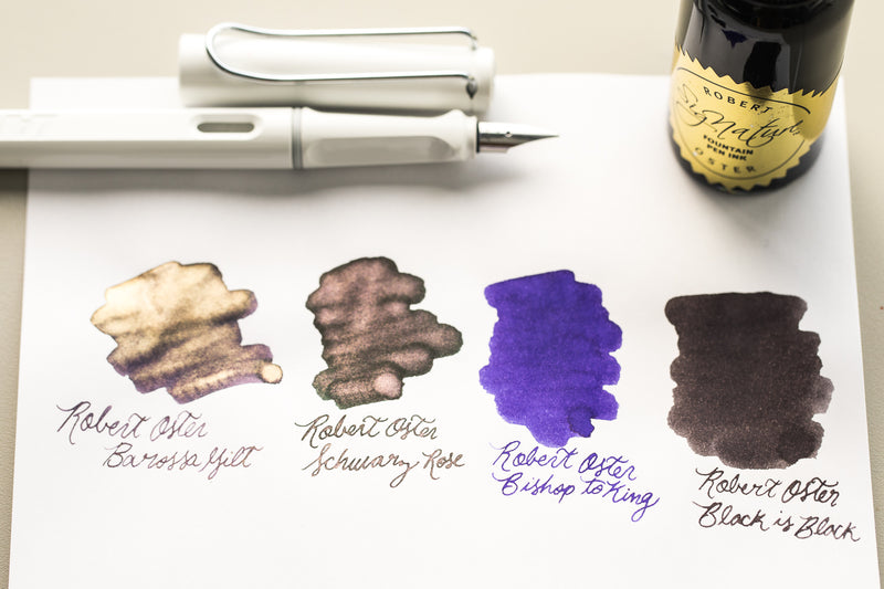 Robert Oster Barossa Gilt - Ink Sample