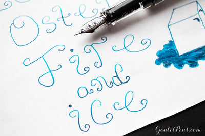 Robert Oster Fire & Ice - Ink Sample