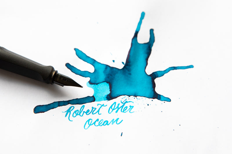 Robert Oster Ocean - Ink Sample