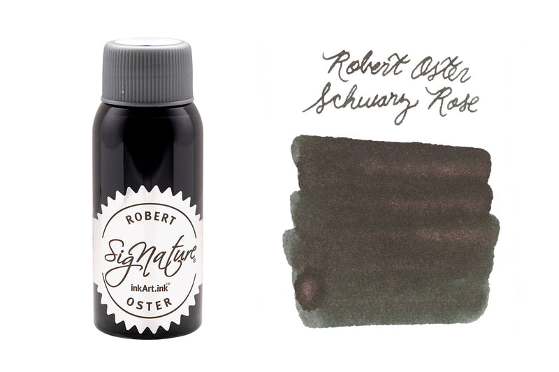 Robert Oster Schwarz Rose - 50ml Bottled Ink
