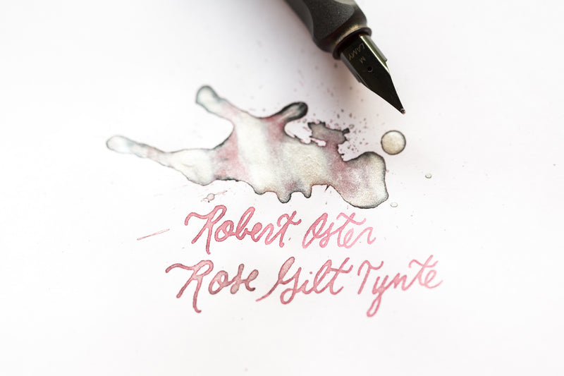 Robert Oster Rose Gilt Tynte - Ink Sample