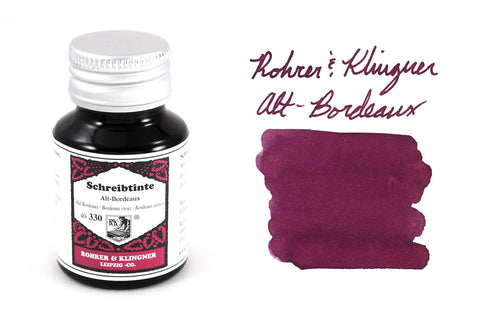 Rohrer & Klingner Alt-Bordeaux - 50ml Bottled Ink