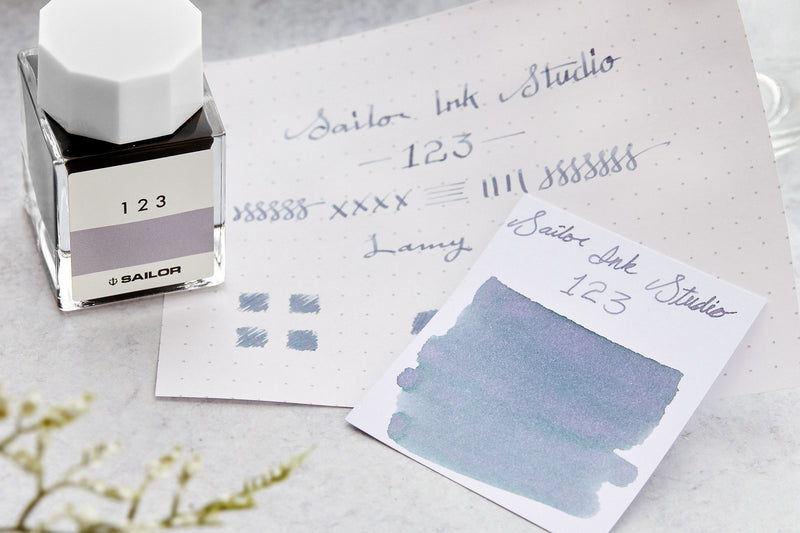 Sailor Ink Studio 123 - Ink Sample