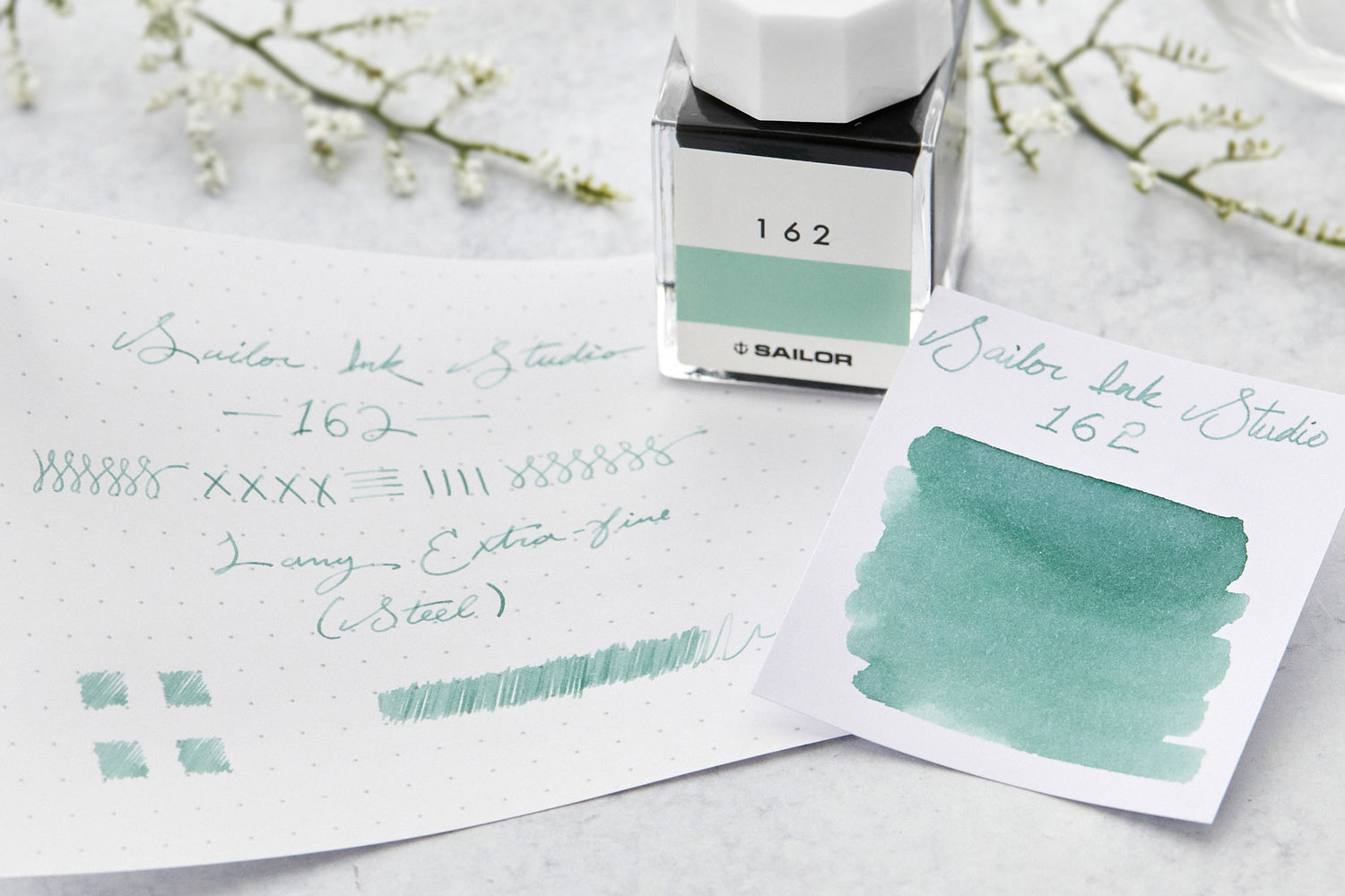 Sailor Ink Studio 162 - Ink Sample