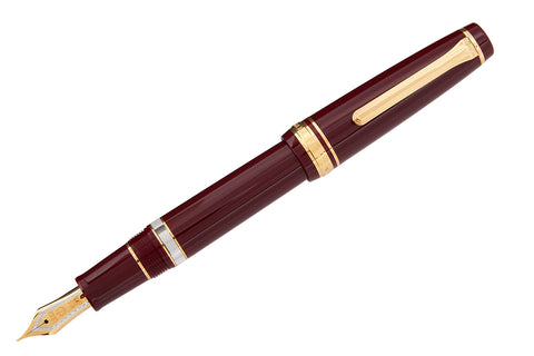 Sailor Pro Gear Realo Fountain Pen - Maroon/Gold