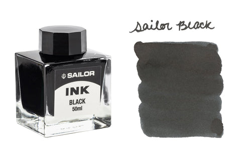 Sailor Black - 50ml Bottled Ink