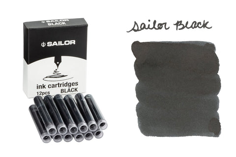 Sailor Black - Ink Cartridges