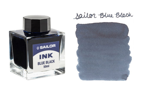 Sailor Blue Black - 50ml Bottled Ink