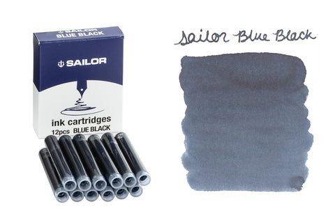 Sailor Blue Black - Ink Cartridges