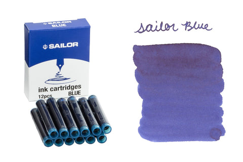 Sailor Blue - Ink Cartridges