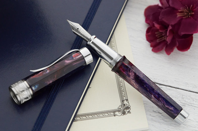 Stipula Adagio Fountain Pen - Purple