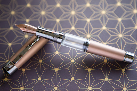 Stipula Ventidue Tocco Ferro Deluxe Fountain Pen - Tobacco (Limited Edition)