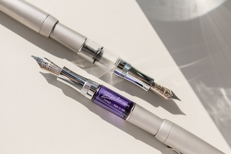 Stipula Ventidue Tocco Ferro Fountain Pen - Clear