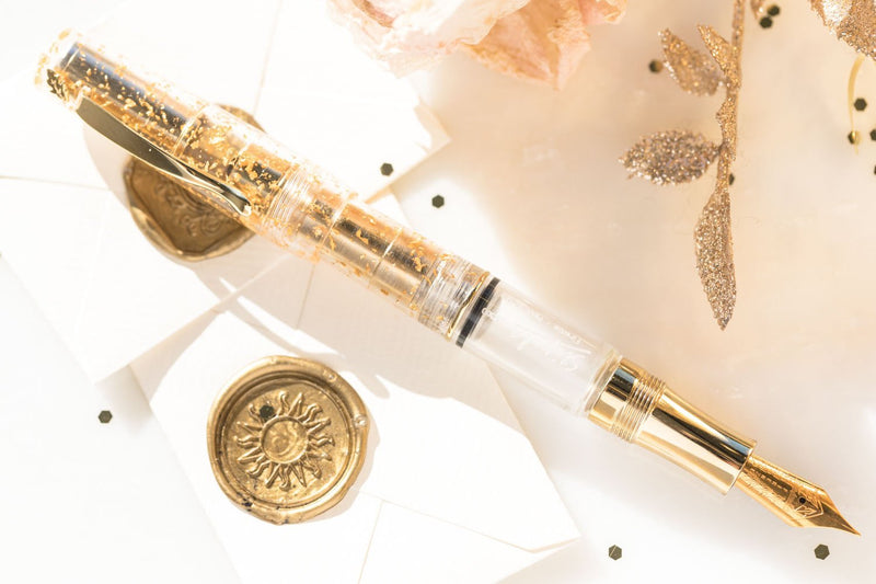 Stipula Ventidue Fountain Pen - Gold Touch (Limited Edition)