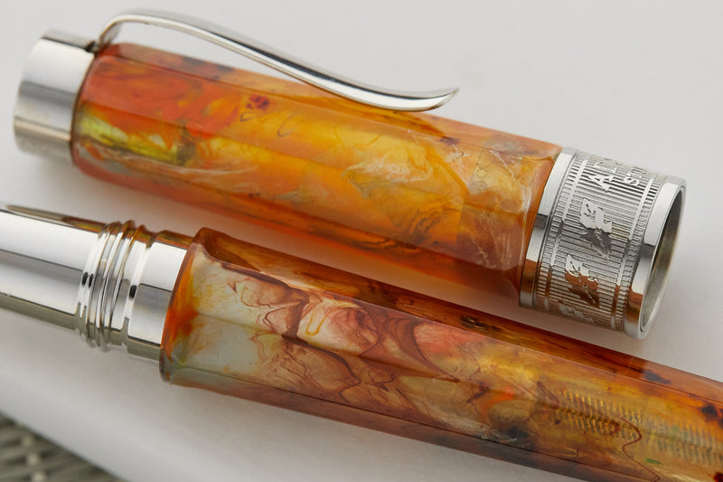 Stipula Adagio Fountain Pen - Amber