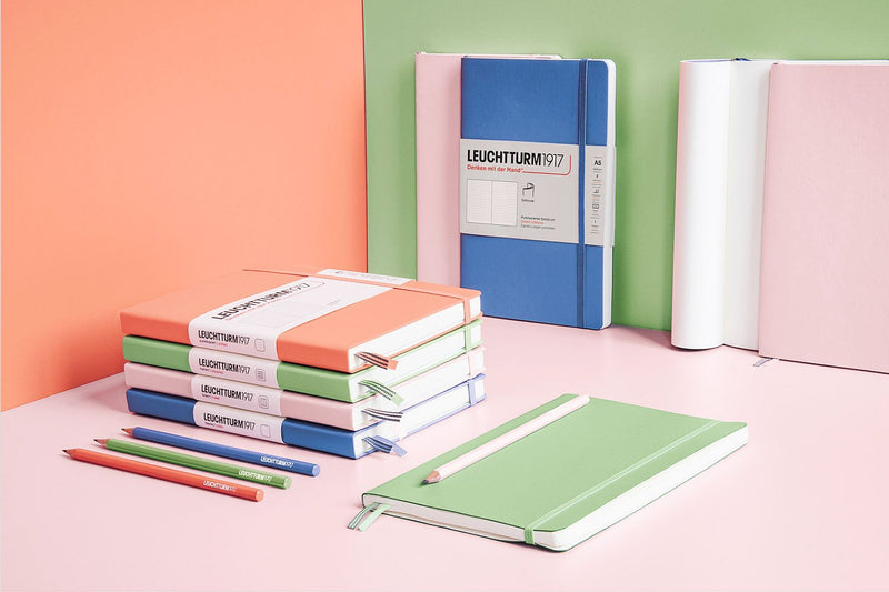 Leuchtturm1917 Medium A5 Notebooks - Muted Colors