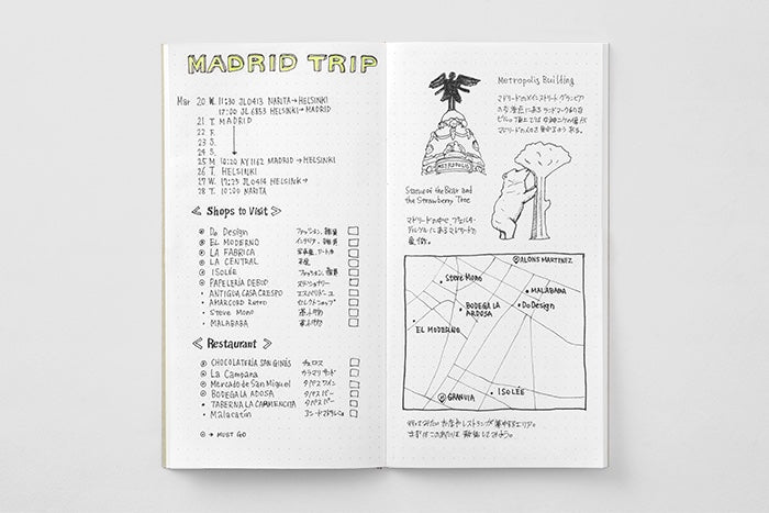 Traveler's Notebook Regular Refill 026 - Dot Grid