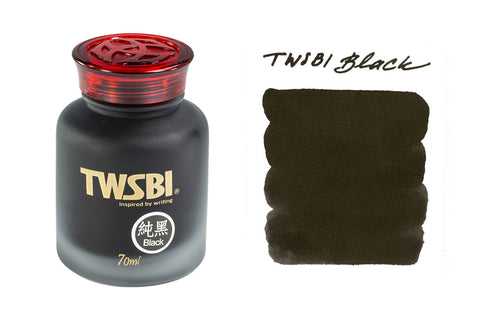 TWSBI Black - 70ml Bottled Ink