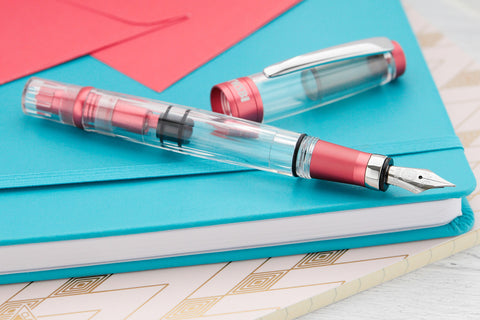 TWSBI Diamond 580ALR Fountain Pen - Punch Pink (Special Edition)