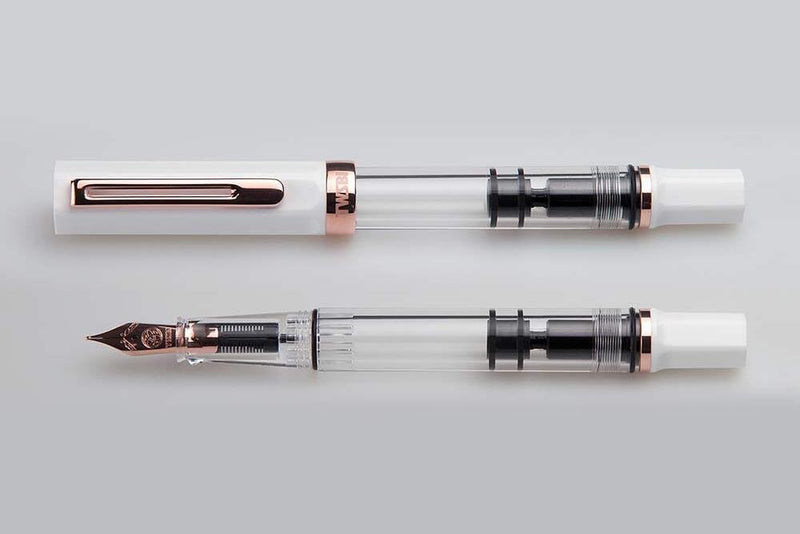 TWSBI ECO Fountain Pen - White/Rose Gold