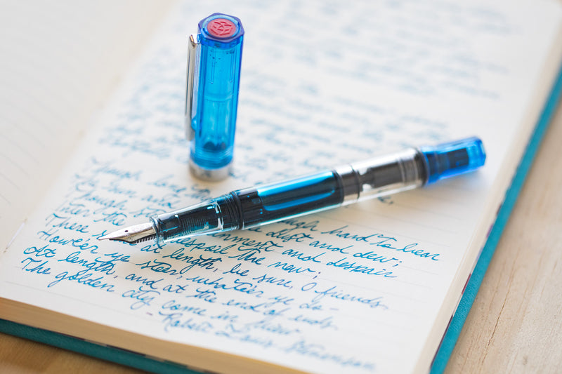 TWSBI ECO Fountain Pen - Transparent Blue (Special Edition)