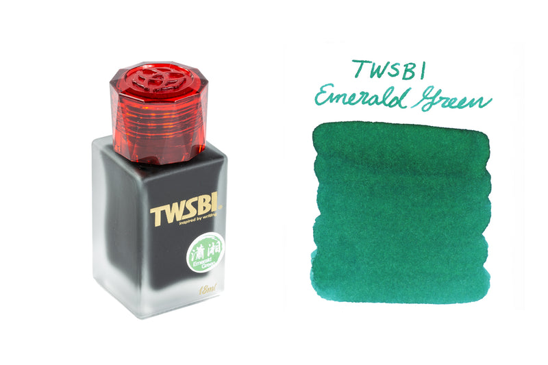 TWSBI 1791 Emerald Green - 18ml Bottled Ink (Limited Edition)