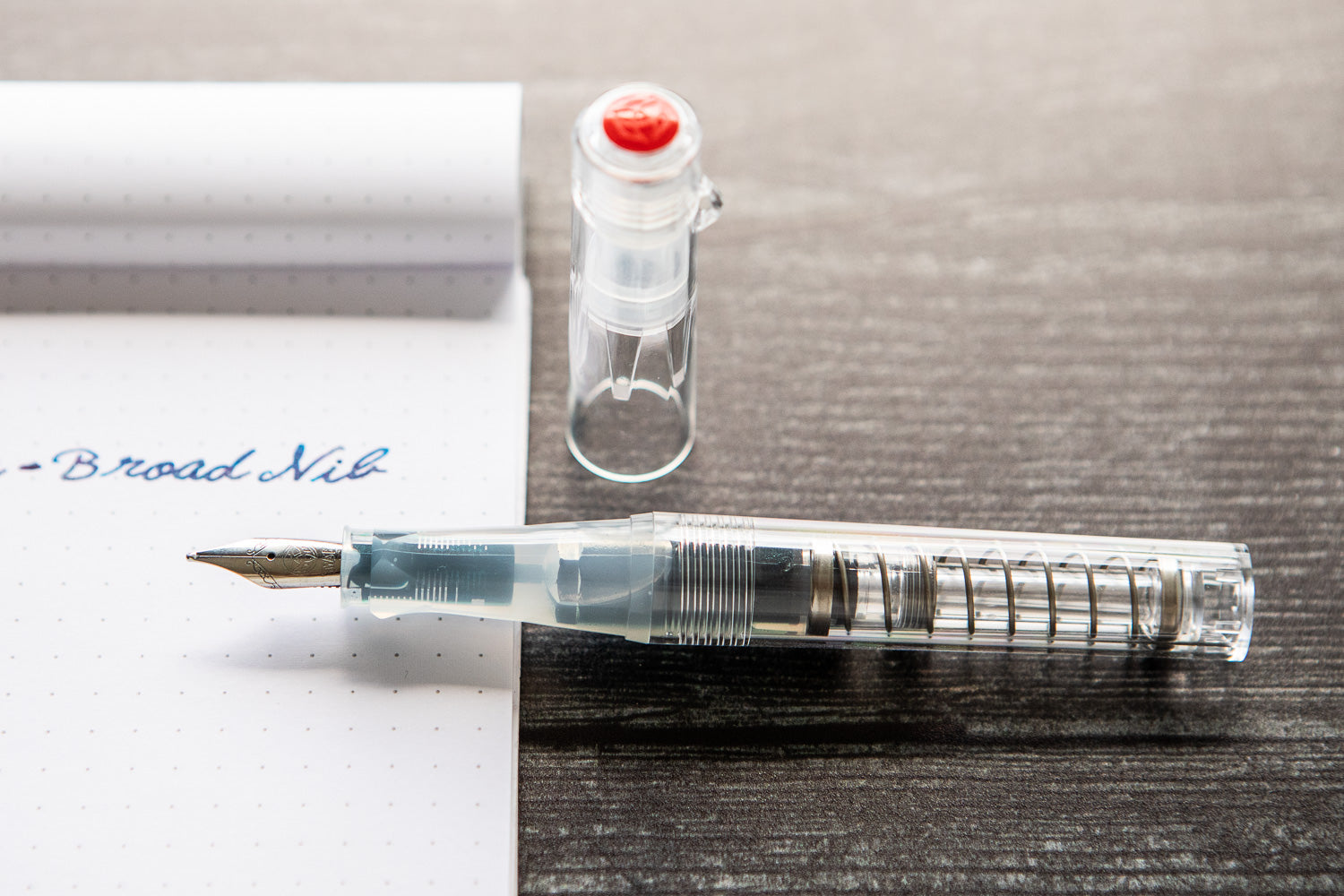 TWSBI GO Fountain Pen - Clear