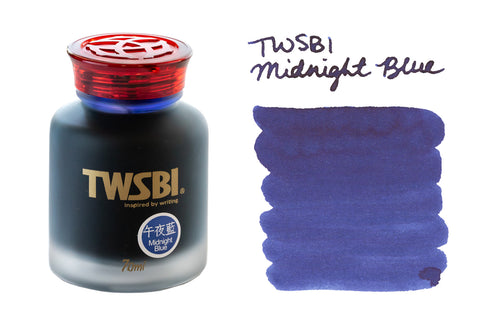 TWSBI Midnight Blue - 70ml Bottled Ink