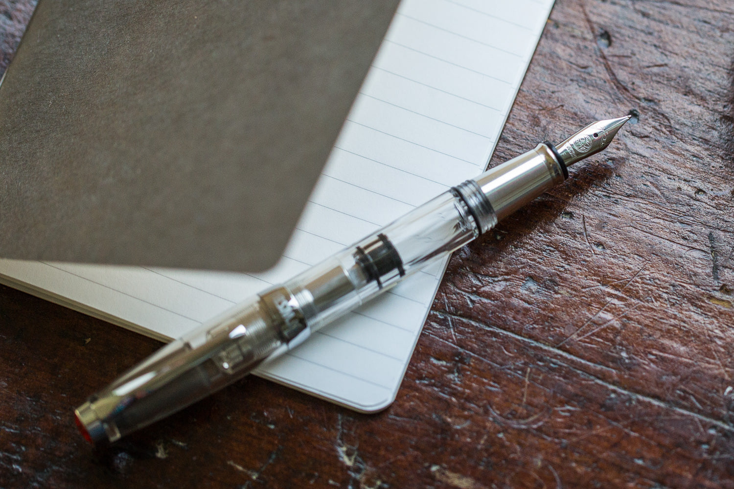 TWSBI Mini AL Fountain Pen - Silver