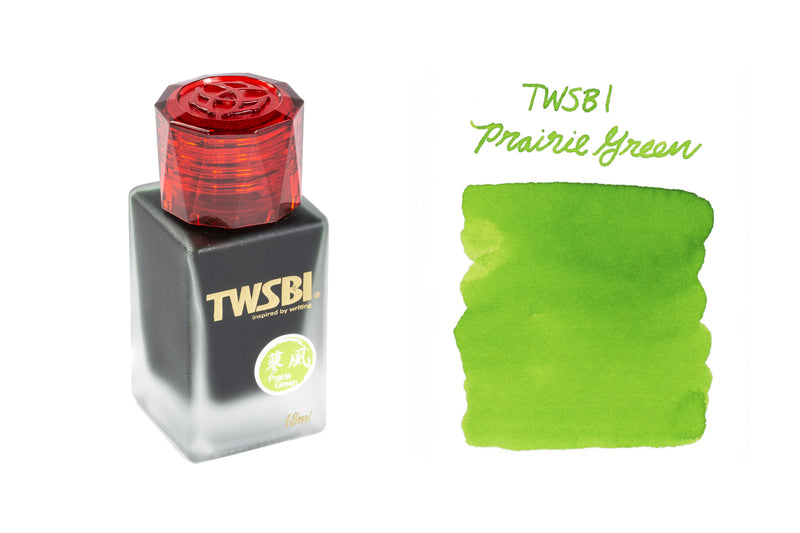 TWSBI 1791 Prairie Green - 18ml Bottled Ink (Limited Edition)