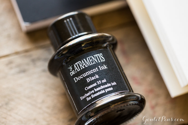 De Atramentis Document Ink - Black - 35ml Bottled Ink