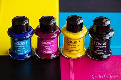 De Atramentis Document Ink - Yellow - 35ml Bottled Ink