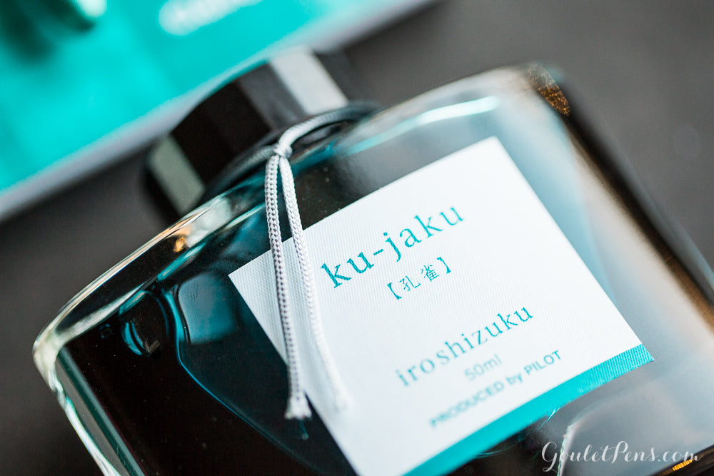 Pilot Iroshizuku Ku-jaku - 50ml Bottled Ink
