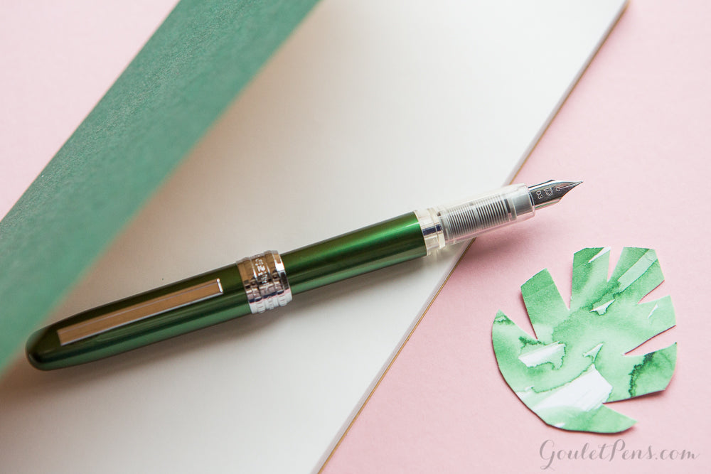 Platinum Plaisir Fountain Pen - Green