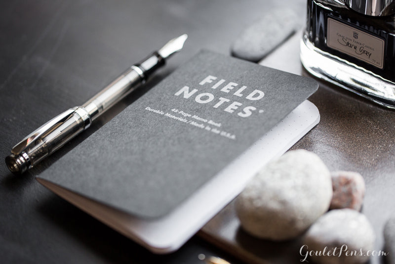Field Notes Notebooks - Pitch Black, Dot-Grid