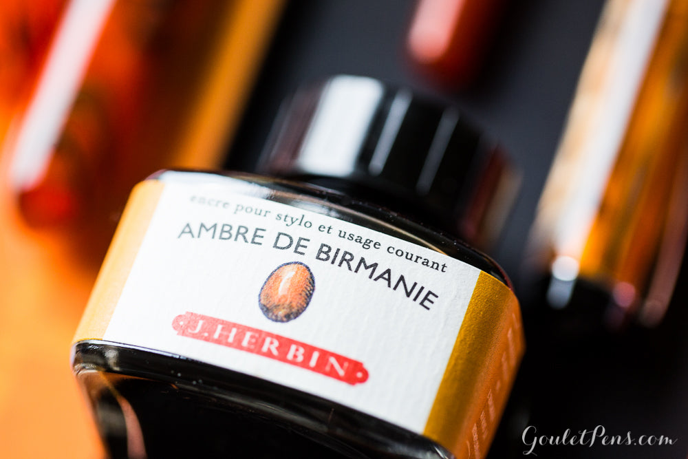 Herbin Ambre de Birmanie - 30ml Bottled Ink