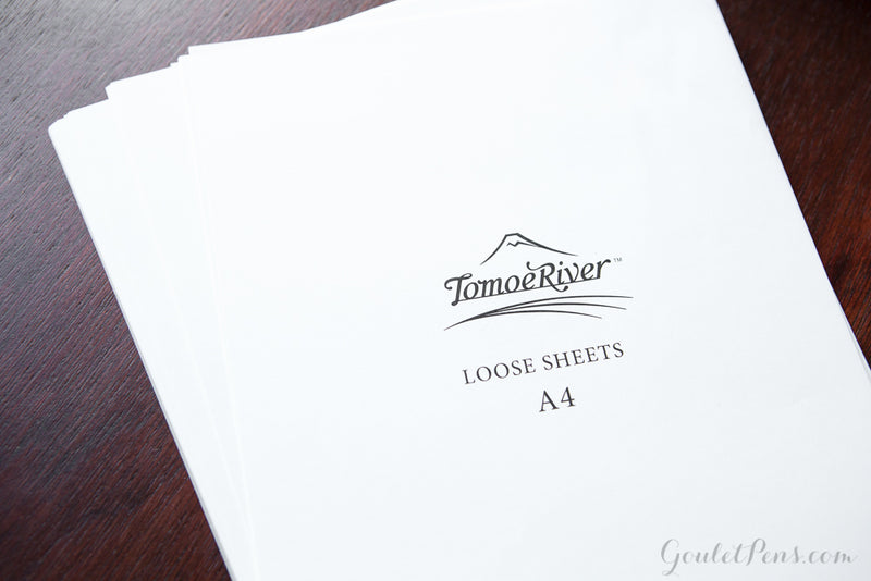 Tomoe River A4 Loose Sheets - White (8.2 x 11.7)