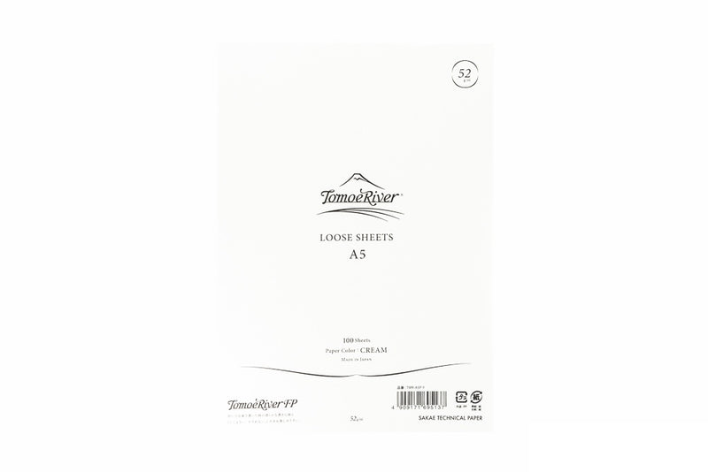 Tomoe River A5 Loose Sheets - 52gsm Cream