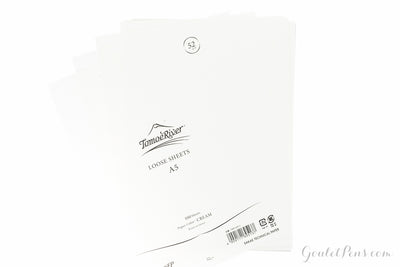 Tomoe River A5 Loose Sheets - Cream (5.9 x 8.2)