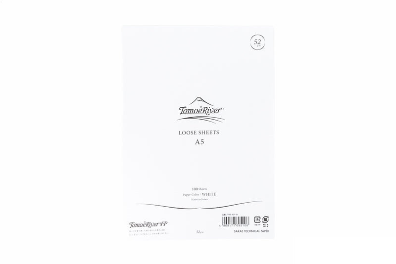 Tomoe River A5 Loose Sheets - White (5.9 x 8.2)