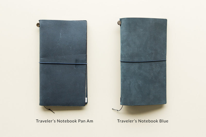 Traveler's Notebook - Blue (Passport)
