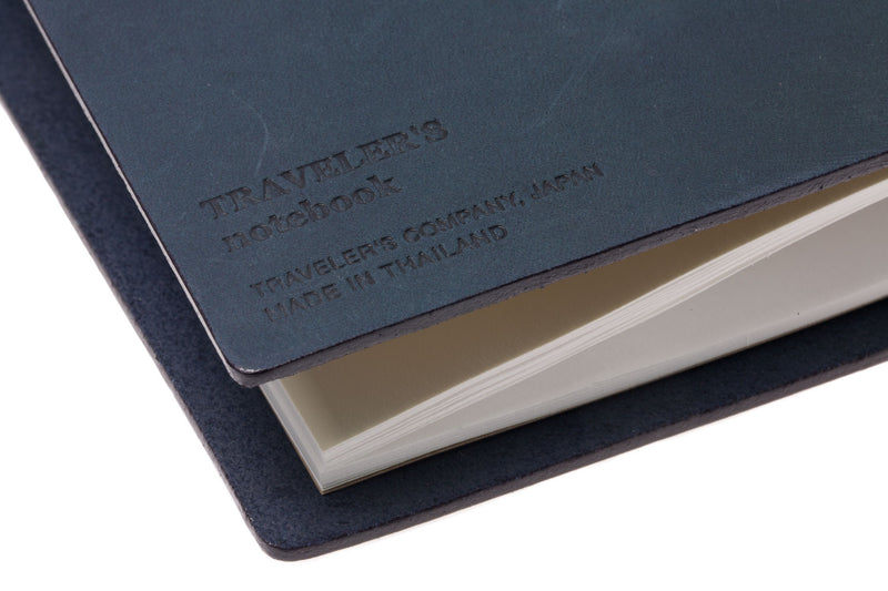 Traveler's Notebook - Blue (Regular)