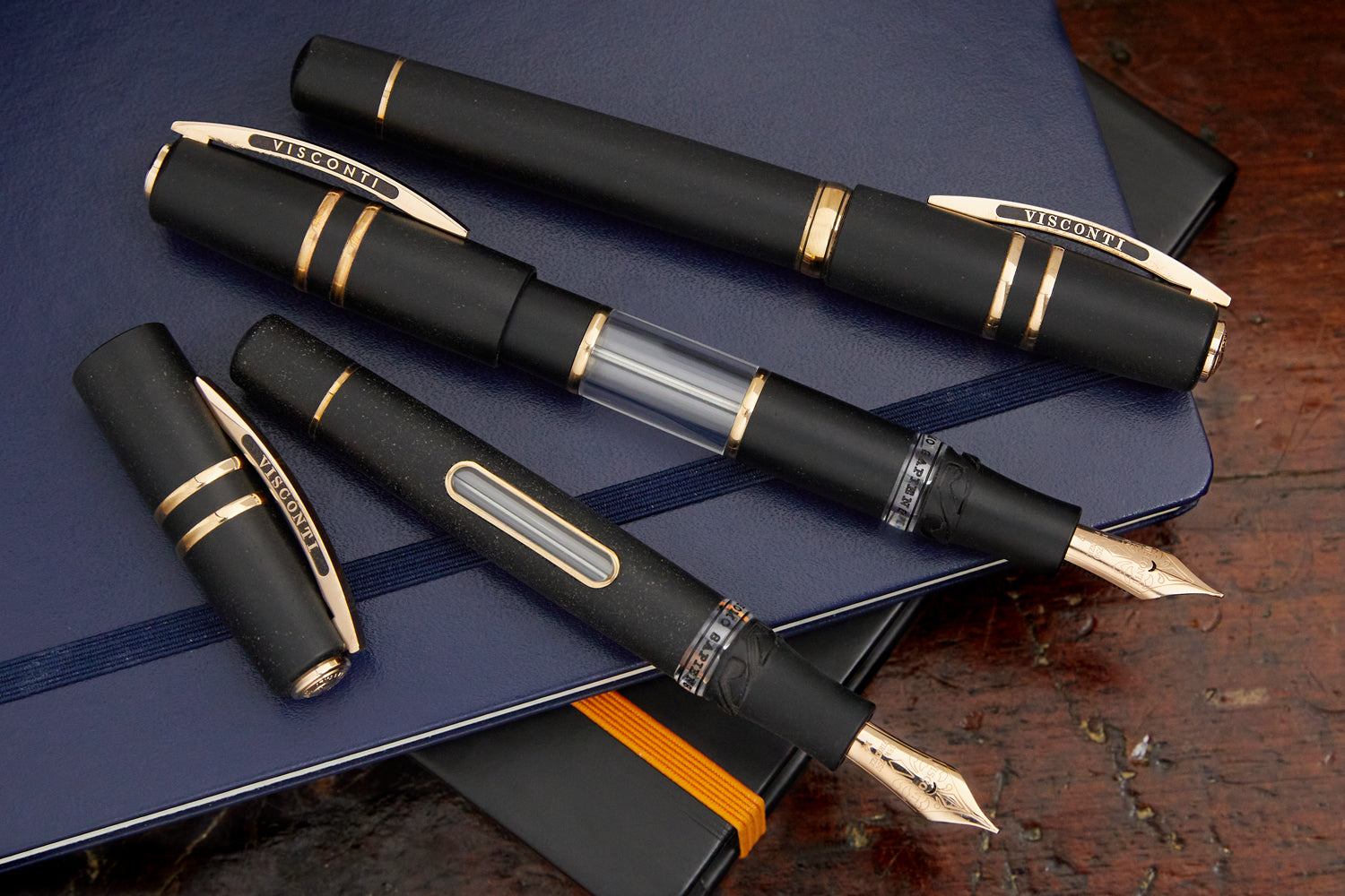 Visconti Homo Sapiens Skylight Fountain Pen - Bronze Age