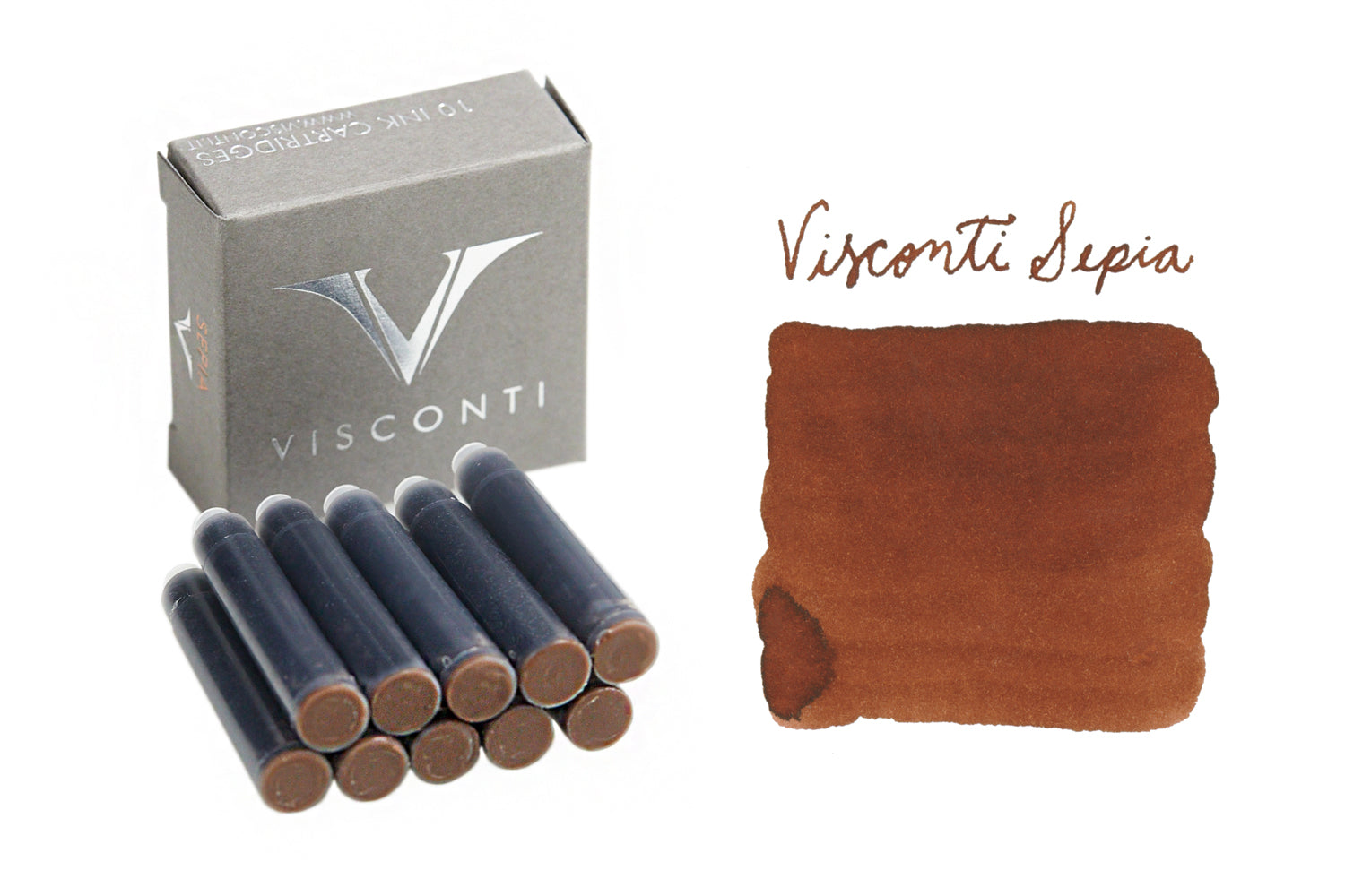 Visconti Sepia - Ink Cartridges