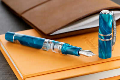 Visconti Homo Sapiens Fountain Pen - Blue Lagoon (Limited Edition)