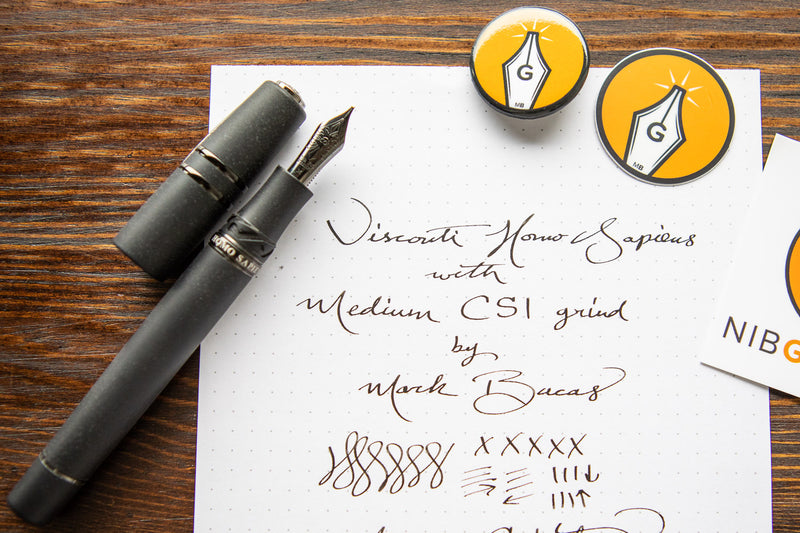 Visconti Homo Sapiens Fountain Pen - Dark Age (Special Edition CSI)