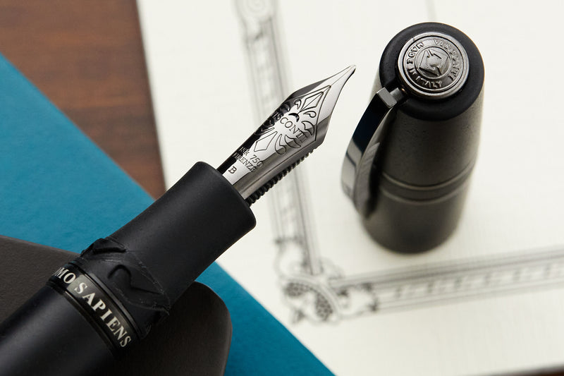 Visconti Homo Sapiens Fountain Pen - Dark Age (Custom Nib Grind)