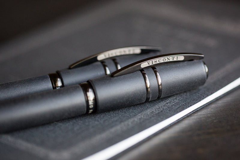 Visconti Homo Sapiens Fountain Pen - Dark Age