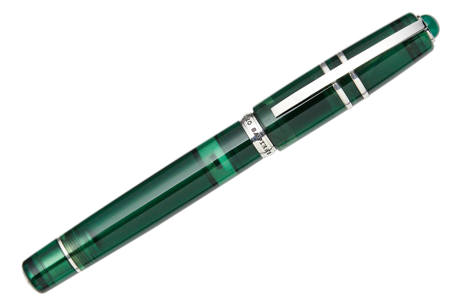 Visconti Homo Sapiens Demo Stones Fountain Pen - Emerald